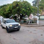 Desinfecção também em Santa Isabel