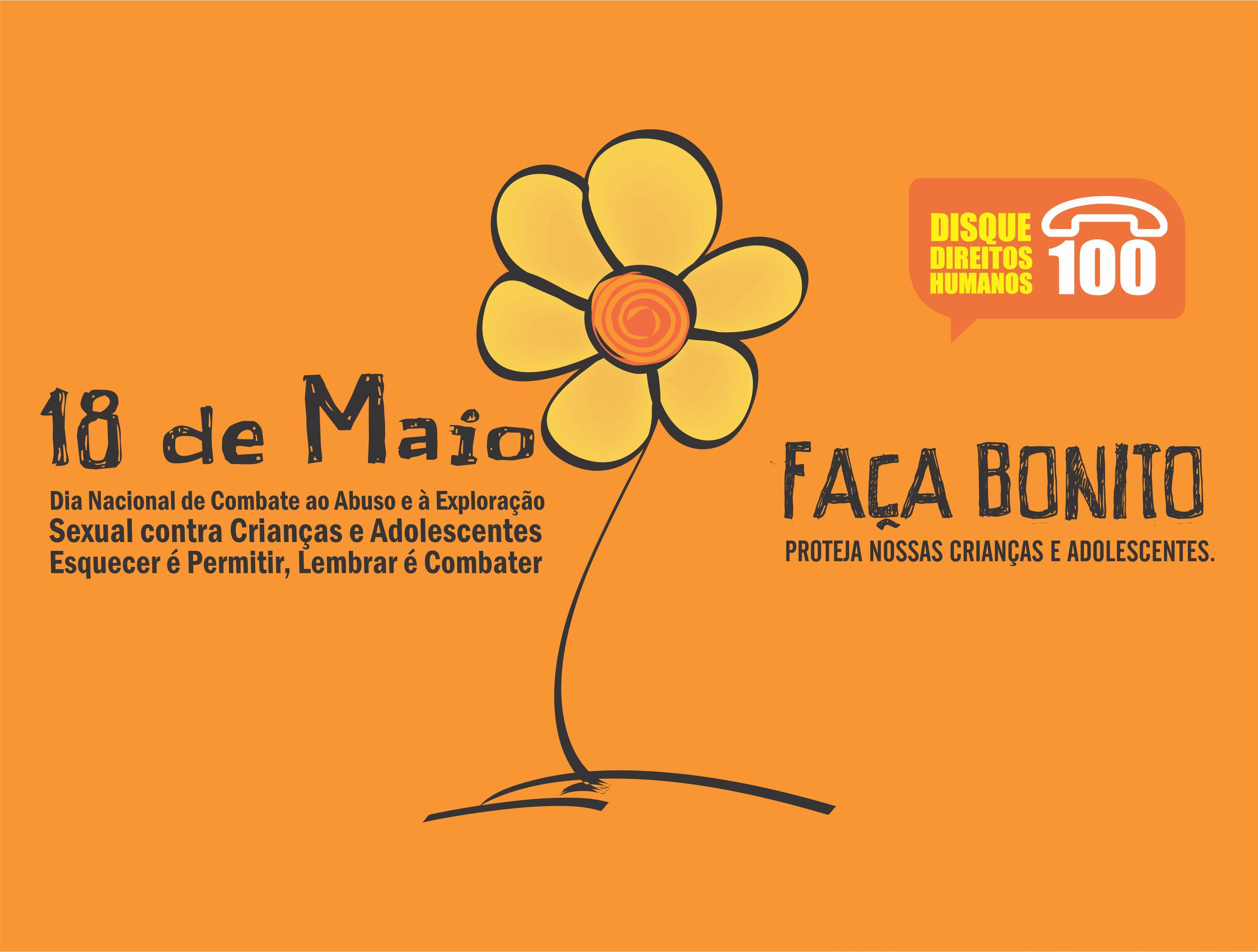 0e2a58dea873 18 de maio: Dia Nacional de Combate ao Abuso e à Exploração Sexual ...